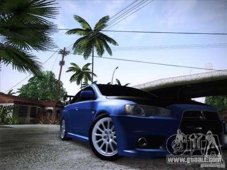 Mitsubishi Lancer Evolution Drift Edition for GTA San Andreas