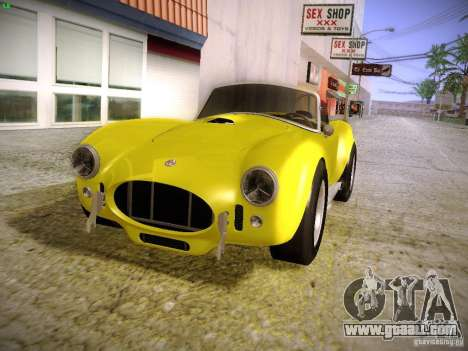 Shelby Cobra 427 for GTA San Andreas