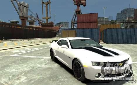 Chevrolet Camaro 2010 Synergy Edition v1.3 for GTA 4 back view