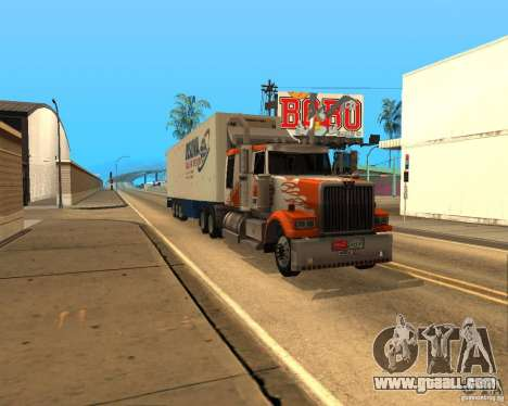 Western Star 4900EX v 0.1 for GTA San Andreas left view