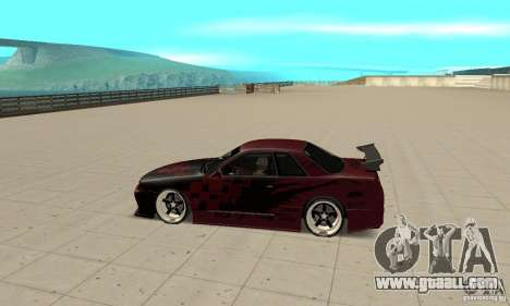 Nissan Skyline R32 Drift Edition for GTA San Andreas left view