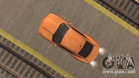 Chevrolet Camaro SS 2010 v2.0 Final for GTA San Andreas back view