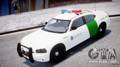 Dodge Charger US Border Patrol CHGR-V2.1M [ELS] for GTA 4