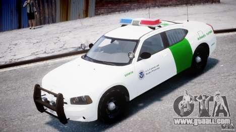 Dodge Charger US Border Patrol CHGR-V2.1M [ELS] for GTA 4