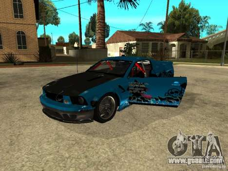 Ford Mustang Drag King for GTA San Andreas right view