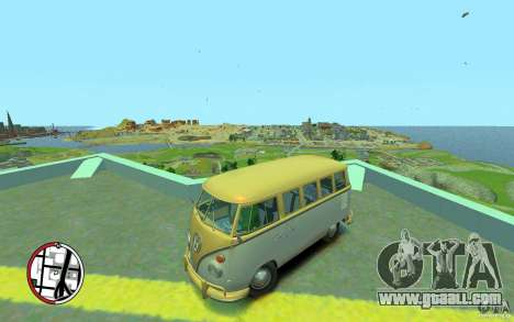 Volkswagen T1 Bus 1967 for GTA 4