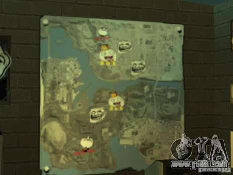 Bar FUCK YES for GTA San Andreas fifth screenshot