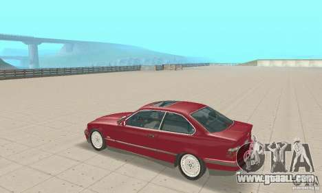 BMW 325i Coupe for GTA San Andreas right view