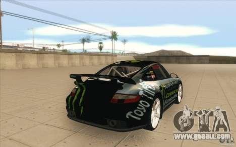 Porsche 997 Rally Edition for GTA San Andreas side view