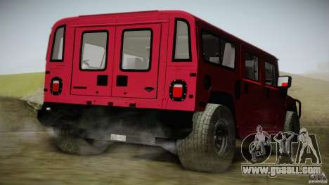 Hummer H1 Alpha Off Road Edition for GTA San Andreas left view