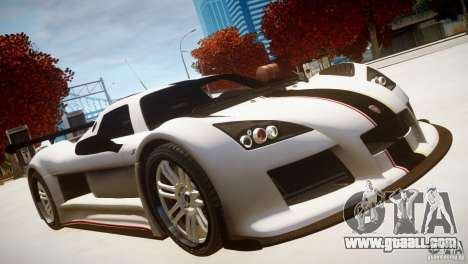 Gumpert Apollo Sport KCS Special Edition v1.1 for GTA 4