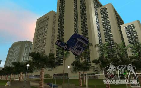 SCANIA 164L 580 V8 for GTA Vice City right view