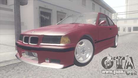 BMW e36 M3 Compact for GTA San Andreas