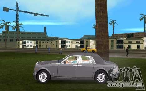 Rolls Royce Phantom for GTA Vice City left view