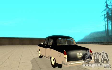 Black Lightning for GTA San Andreas third screenshot