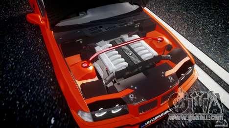 BMW E36 Alpina B8 for GTA 4 back view