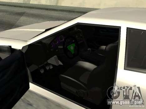 Elegy 29-13 for GTA San Andreas back view