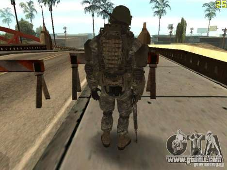 Combat soldiers from CoD: Mw2 for GTA San Andreas third screenshot