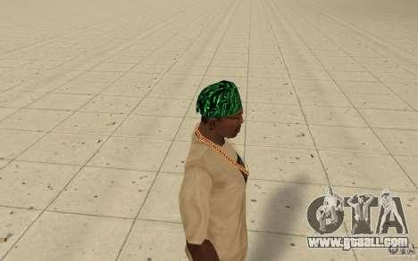 Bandanas matrix for GTA San Andreas second screenshot