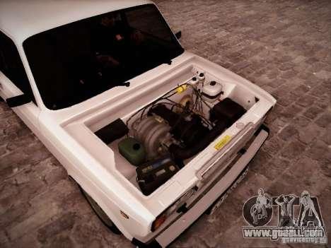 VAZ 2107 for GTA San Andreas inner view