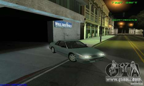 Nissan Silvia S13 Tunable for GTA San Andreas back left view