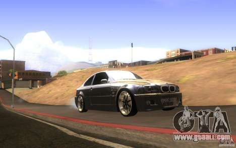 BMW M3 E46 V.I.P for GTA San Andreas inner view