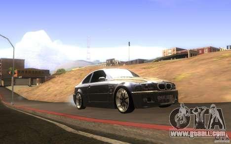 BMW M3 E46 V.I.P for GTA San Andreas inner view