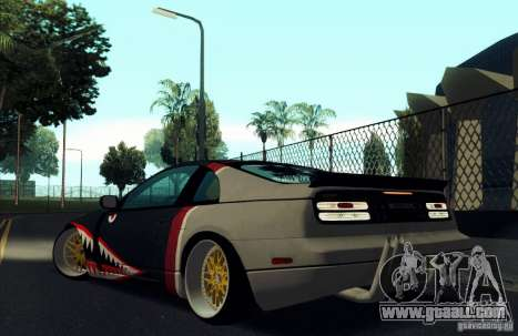 Nissan 300ZX Bad Shark for GTA San Andreas engine