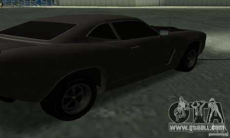 Hunter Cavalry of Burnout Paradise for GTA San Andreas inner view