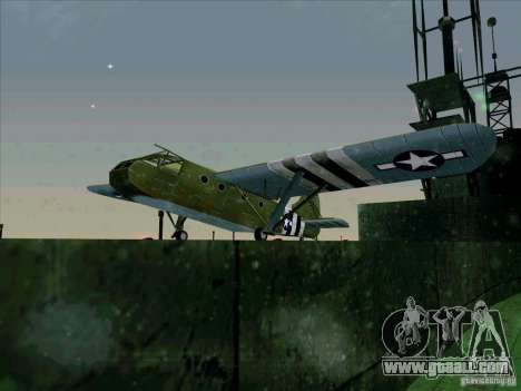 Aircraft from the game behind enemy lines 2 for GTA San Andreas