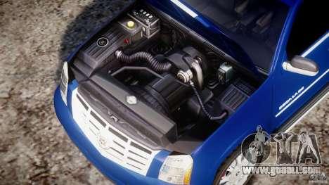 Cadillac Escalade [Beta] for GTA 4 back view