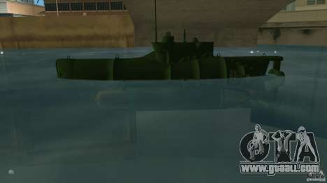 Seehund Midget Submarine skin 1 for GTA Vice City left view