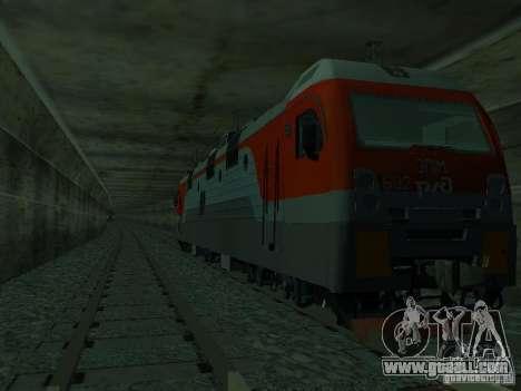 ÈP1M-392 OJSC «RUSSIAN RAILWAYS» for GTA San Andreas side view