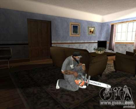 New chainsaw for GTA San Andreas third screenshot