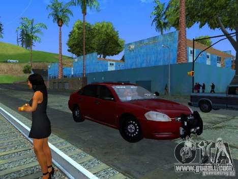 Chevrolet Impala Unmarked for GTA San Andreas