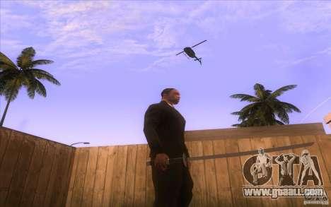 Katana for GTA San Andreas