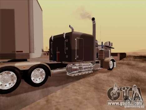 Peterbilt 359 Custom for GTA San Andreas right view