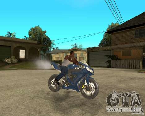 2005 Yamaha R1 for GTA San Andreas right view