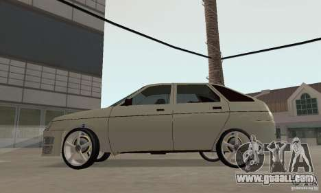 LADA 2112 Tuning (F) for GTA San Andreas right view