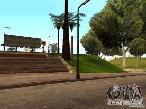 The new basketball court in Los Santos for GTA San Andreas sixth screenshot