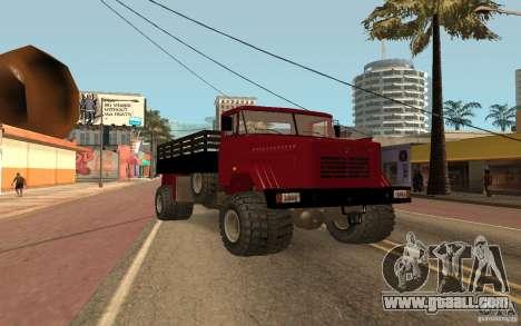 KrAZ 5131 for GTA San Andreas