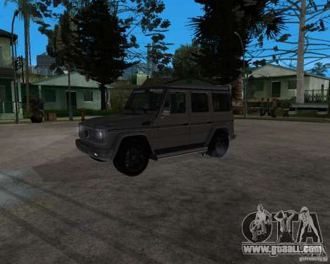 Mercedes-Benz G55 AMG (W463) 2008 for GTA San Andreas left view