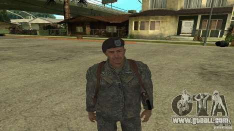 Shepard of CoD MW2 for GTA San Andreas