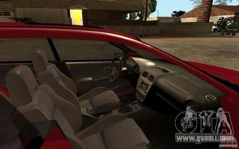Subaru Impreza WRX Wagon 2002 for GTA San Andreas inner view