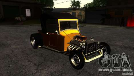 Ford T 1927 Hot Rod for GTA San Andreas back view