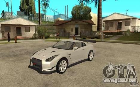 Nissan GT R Shift 2 Edition for GTA San Andreas