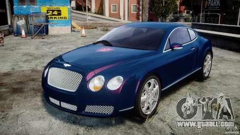 Bentley Continental GT v2.0 for GTA 4
