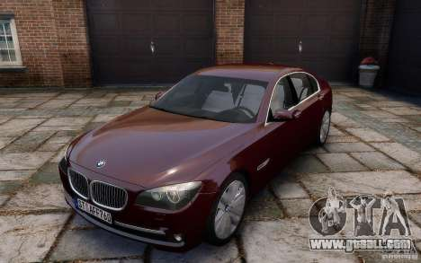 BMW 760Li 2011 for GTA 4