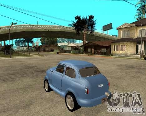 ZAZ 965 Zaporozhets HotRod for GTA San Andreas left view