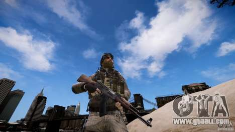 Captain Price from COD MW3 for GTA 4